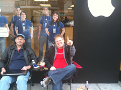 Robert Scoble inline for his iPad